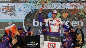 Hamlin's wins at Phoenix gives final a JGR flavor