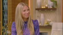 Gwyneth Paltrow reveals ex Chris Martin joined new husband Brad Falchuk on their 'modern' honeymoon