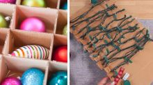 24 Super-Smart Ways to Store All of Your Christmas Decorations