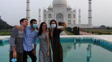 Weltberühmtes Taj Mahal öffnet wieder für Touristen