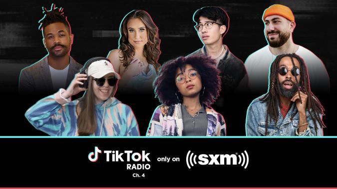 'TikTok Radio' Launches Exclusively On SiriusXM Today