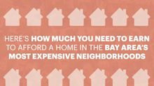Here's how much you need to earn to live in the Bay Area's most expensive neighborhoods