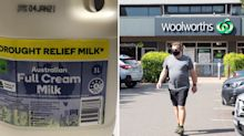 Woolworths pulls milk from sale after 'chemical taste' complaints