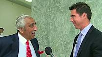 Jesse Watters confronts Charles Rangel