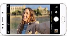 Phone with dual front-facing cameras is perfect for selfie fanatics