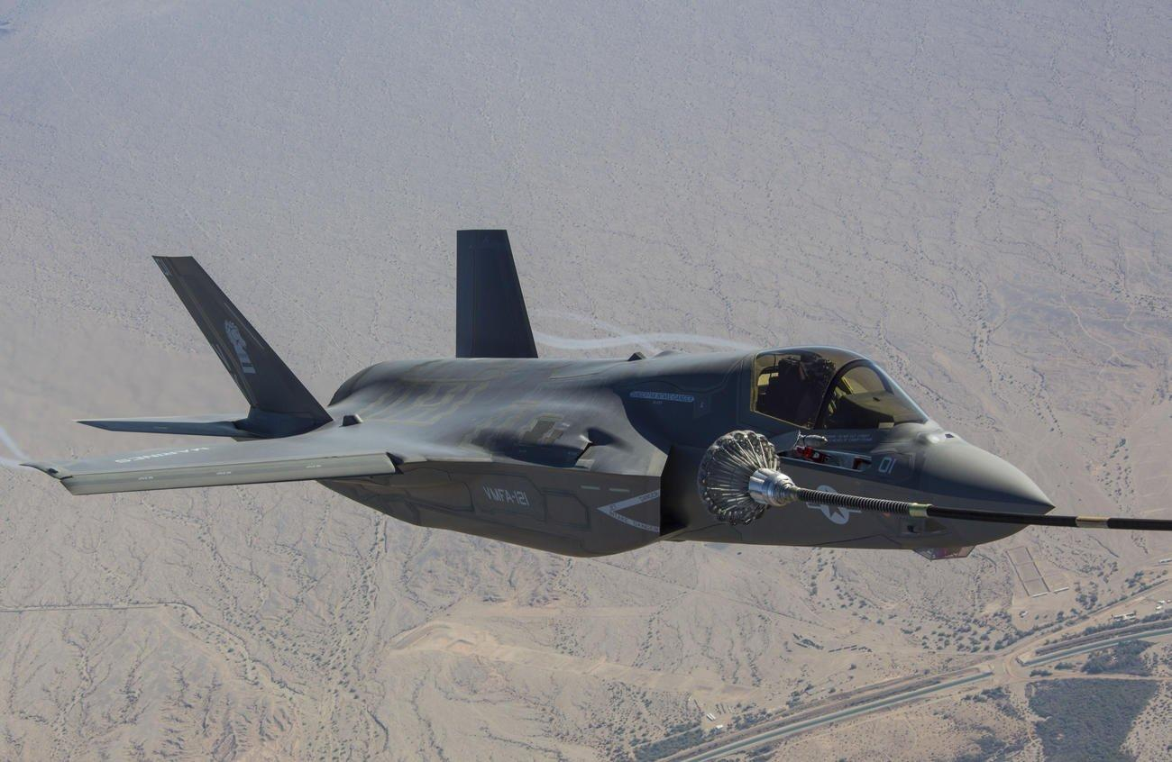 Marine Corps F-35 and C-130 Collide During Refueling Exercise, All Personnel Found Safe