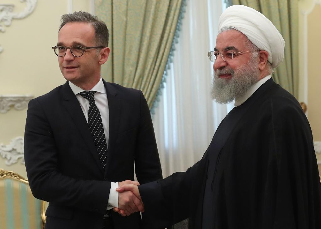 German Foreign Minister Heiko Maas's Tehran talks with President Hassan Rouhani came amid growing frustration in Tehran at the European Union's powerlessness to rescue a 2015 nuclear deal abandoned by US President Donald Trump in May last year