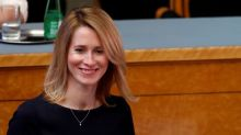 Kallas becomes Estonia's first female PM, far right out of government