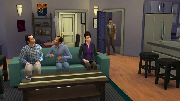 Seinfeld, Friends casts reunite in The Sims 4 custom content