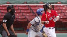 Moreland 2 HRs, walk-off shot sends Red Sox over Toronto