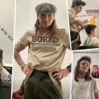 Brooklyn Beckham gives brother Cruz a mullet backstage at mum Victoria's fashion show