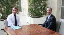 Macron pide a gigantes de internet medidas a favor del bien común