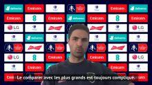 """Arsenal - Arteta : """"Giroud est un battant"""""""