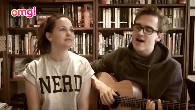 Mc Fly's Tom Fletcher and wife sing together