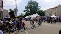 Hundreds race in Parx Casino Philly Cycling Classic