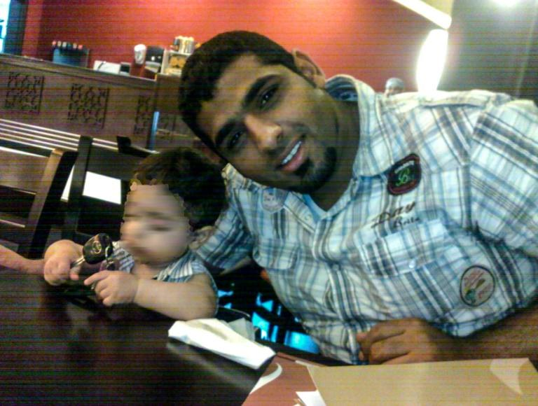 Bahraini Mohamed Ramadhan, in an undated photo obtained from his family, has been sentenced to death for murdering a police officer (AFP Photo/-)