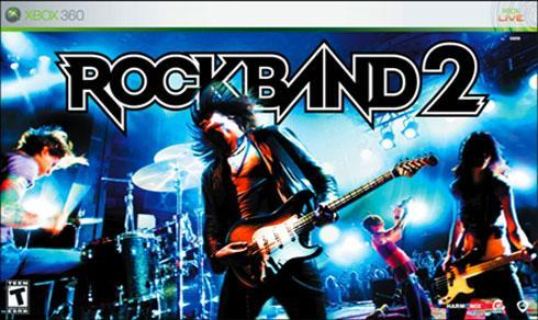 Rock Band 2 on-disc track list revealed, features over 80 songs