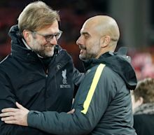 Liverpool manager Jurgen Klopp refuses to panic as Manchester clubs expose gulf in quality between inter-city rivals