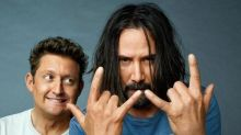 Bogus! 'Siberia' star Keanu Reeves says that 'Bill & Ted 3' isn't a done deal