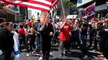 Thousands of pro-Trump crowds have gathered since he took office. No state has had more than California
