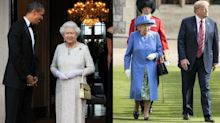 People think the Queen shaded Trump with this subtle outfit accessory