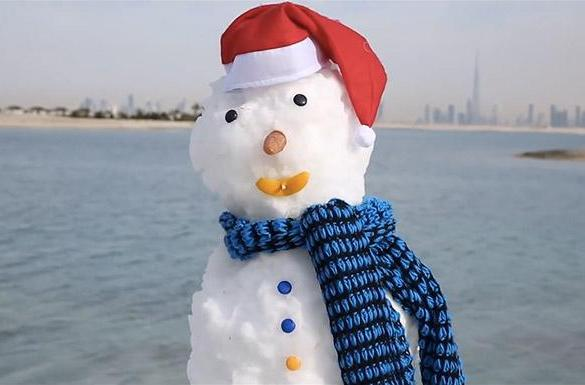 How a company plans to make it snow in Dubai