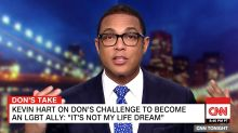 Don Lemon Challenges Kevin Hart To Come On CNN: 'Are You Scared Of Me?'