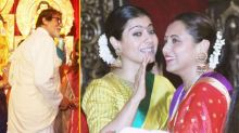 In pics: It's a K3G reunion at Durga Puja