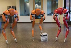 Watch Cassie the bipedal robot run a 5K