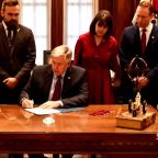 Missouri governor signs law banning abortion after eight weeks