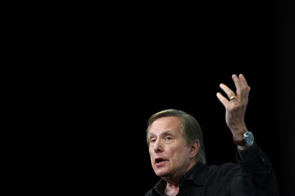 """US director William Friedkin speaks on May 18, 2016 during """"La Lecon de Cinema"""", a masterclass at the 69th Cannes Film Festival (AFP Photo/Anne-Christine Poujoulat)"""