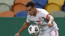 Tottenham defender Sergio Reguilon injured on Spain duty but Luis Enrique insists knock is 'nothing serious'