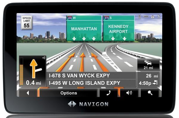 Navigon intros the 7200T, shows off 3D signage and landmarks