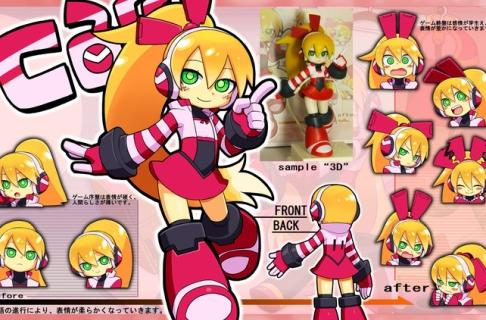 Mighty No. 9 co-op character design wins fan vote by less than 3%