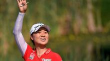Record-equalling Minjee Lee wins first major at Evian as Lee6 implodes