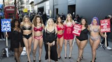 Plus-Size Models Staged a Protest During London Fashion Week: 'Where Are the Curves?'