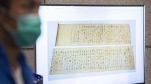 Crede che sia un falso, strappato rarissimo manoscritto di Mao