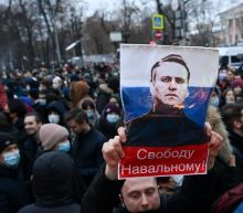 Tens of Thousands Flood Moscow Streets to Protest Navalny's Arrest