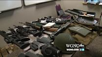 Police Find Stash of Guns, Drugs and Military Grade Armor in Home