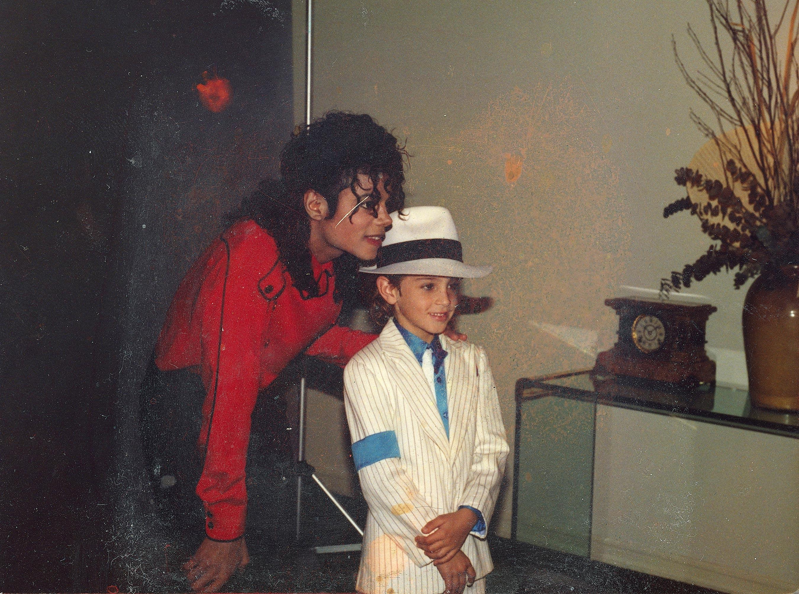 bdb409c2245f05 Wade Robson Speaks Out on Burning His Michael Jackson 'Thriller'-Style  Jacket in Leaving Neverland