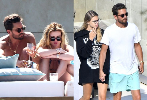 Scott Disick has spent time with Bella Thorne, left, and Scott Disick. (Photo: Splash News/BACKGRID)