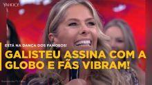 Adriane Galisteu assina com a Globo e internet vibra!