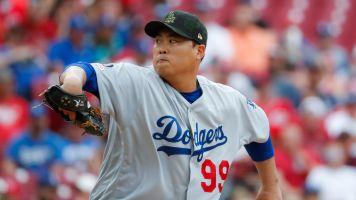 Hyun-Jin Ryu's scoreless streak is nearing historic territory