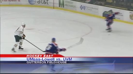 UVM swept by #20 UMass-Lowell on home ice