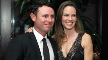 Love-Love! Hilary Swank and Former Tennis Pro Ruben Torres Make Their Red Carpet Debut
