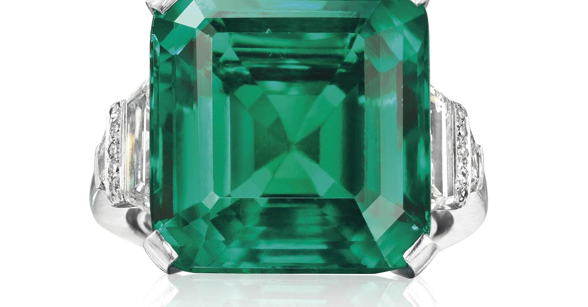 Rockefeller Emerald Could Become Most Expensive Ever At Auction