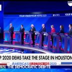 How are voters resonating with the Democrats' messaging after the third 2020 debate?
