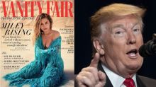 Miley Cyrus calls Trump a 'completely racist, sexist, hateful a**hole' in new Vanity Fair article
