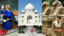 Princess Diana's Best Travel Style