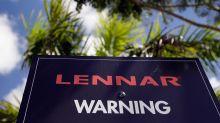 Lennar's stock swings sharply lower as weak outlook overshadows earnings beat